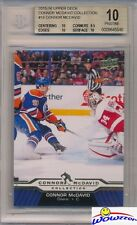2015/2016 Upper Deck Connor McDavid Collection #18 ROOKIE BGS 10 PRISTINE