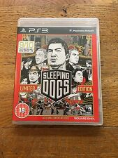 Sleeping Dogs Limited Edition (unsealed) - PS3 UK Release New!