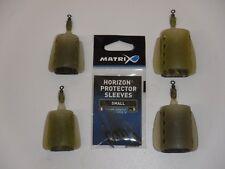 Fox Matrix Finned Feeder set/4 med20/30 small 15/25 horizon protector sleeves