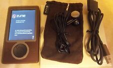 Microsoft Zune Brown 30 Gb Digital Media Player Mp3 Guardians of the Galaxy Cool