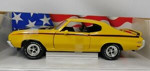 """1/18 Ertl American Muscle """"Collectors Edition"""" 1970 Buick GSX Yellow #36811"""