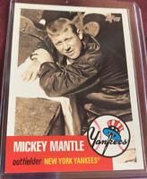 Mickey Mantle 2007 Topps card # MMS20, New York Yankees MLB HOF'er
