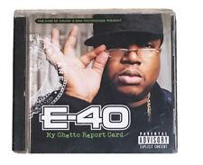 E-40 - My Ghetto Report Card - CD - **Excellent Condition**