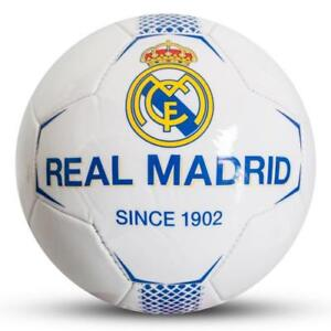 Real Madrid Football 2018-2019 Size 5 White Panel Ball
