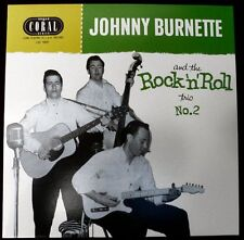 "JOHNNY BURNETTE TRIO 10"" LP - No.2 - ALTERNATE AND CLASSIC ROCKABILLY CUTS"