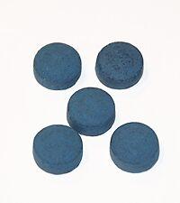 Blue Knight pool Cue Tips 14mm 10 pcs new 1st quality billiards custom