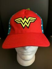 New with Tags NWT Wonder Woman Adjustable Hat OSFM
