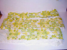 "Vintage Embroidered Edge 5"" Wide Applique Trim 12+ yrds"