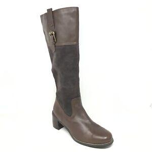 Women's Blondo Miakim Waterproof Knee High Boots Shoes Size 8 Brown Leather
