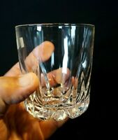 Beautiful Royal Doulton Mode Crystal Whiskey Glass