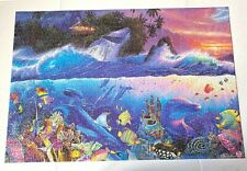 """Beyond The Reef 1500 Piece Deluxe Puzzle Mega Brand Tropical Fish 32.75"""" x 22.5"""""""