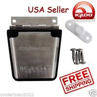 Igloo #20018 Stainless Steel Latch Post & Screws Metal Replaces Old &  New Style