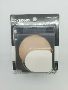 COVERGIRL CLEAN POWDER FOUNDATION FOR NORMAL SKIN 520 CREAMY NATURAL