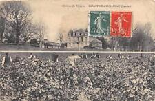 CPA 40 CHATEAU DE RIBEYRE LABASTIDE D'ARMAGNAC LANDES (cliché rare