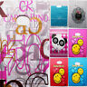 50pcs 9*15 20*25cm Plastic Bags Jewelry Cards Pouches Greeting Cards Gift Bag