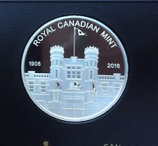 1908-2018 Canada two mints medallion pure silver from proof set - coin only