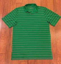 Mens Ralph Lauren RLX Striped Green Black White Polo Shirt Size M NWOT