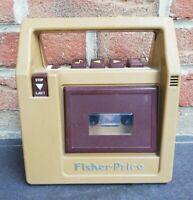 Ancien lecteur cassette Fisher Price vintage