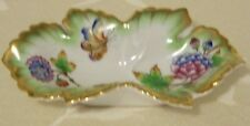 "Early Herend Trinket Tray ""Queen Victoria"" 1949 Mark"