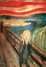 THE SCREAM - MUNCH ART POSTER - 24x36 FINE ART PRINT 1357
