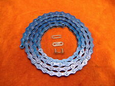 BLUE 1/2 X 1/8 - 112 CHAIN LOW RIDER BIKE BICYCLE BACH CRUISER
