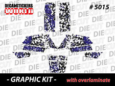 *NEW* RACING ATV QUAD BANSHEE COMPLETE GRAPHICS KIT STICKERS 350 5015