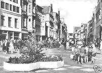 AK, Rostock, Kröpeliner Str., belebt, 1974