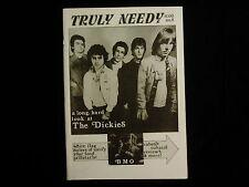 TRULY NEEDY #8 '84 D.C. punk/hc fanzine- The DICKIES *CABARET VOLTAIRE *DISCHORD