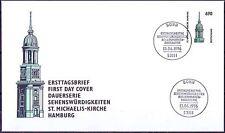 BRD 1996: St. Michaelis-Kirche Hamburg FDC der Nr 1860 mit Bonner Stempeln! 1707