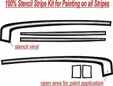 69 Camaro SS Complete Stencil Kit (Hockey Stick Style for Painting only)