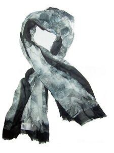 RRP 200 New Belstaff scarve shawl luxurious fine soft cotton 70x155 unisex