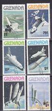 Weltraum Space Shuttle kompletter Satz Grenada 1978 C1562