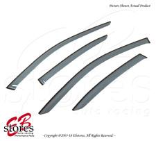 For Lexus GS350 GS450h 2013-2016 Tape On Ash Grey JDM Window Visor Deflector 4pc