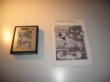 Atari 7800 Crack ´ed cartucho y manual PAL