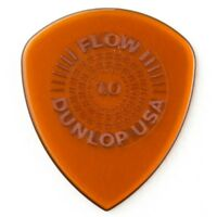 Dunlop 549P100 Flow Standard Grip Guitar Picks, 1.00mm, 6-Pack