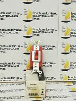 Cooper Wiring Devices Eagle Red Industrial Toggle Switch 20A *FREE SHIPPING*