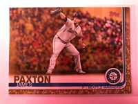 2019 TOPPS SERIES 1 GOLD PARALLEL JAMES PAXTON #/2019 Mariners