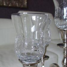 Glasaufsatz für Kerzenleuchter Kerzenständer Teelichthalter Teelicht klein ck