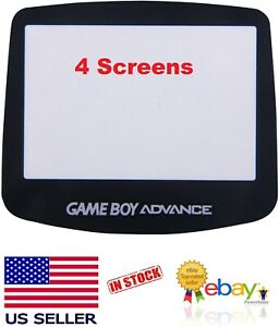 4 Replacement Protective Screen Panel Lens Cover for Nintendo Game Boy Advance