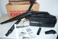 Oreck XL Super Buster B Handheld Vacuum w/ 5 Tools Attachments in Box