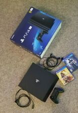 Playstation 4 Pro used, excellent condition with 2 games + 1 controller