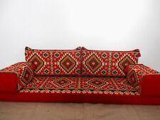 Arabic Majlis,Floor Seating Sofa,Cushion Covers,Arabic Floor Sofa ONLY COVERS !!