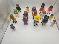 Playmobil / Geobra Bundle/Job Lot Figures (Men, Women, Children) - See Photos