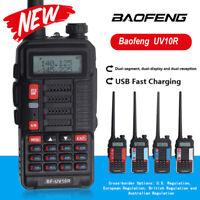 🔥NEW BAOFENG UV-9R PLUS WALKIE TALKIE VHF UHF DUAL BAND HANDHELD TWO WAY 18W AU