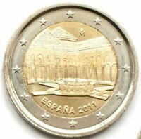2011 Spain 2 Euro 2€  Palace of the Emir - Alhambra of Granada UNESCO , UNC Coin