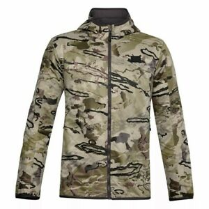Under Armour Brow Tine Barren Hunting Jacket (Camouflage) LARGE Quiet Mid-Season