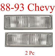 88 93 Chevy GMC PARKING LIGHTS Set L&R Truck Blazer Suburban Yukon 89 90 91 92