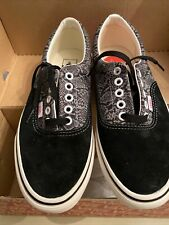 Womens Vans Era Trainers Shoes UK 6 Black Multi Marshmallow BNIB Off The Wall C3