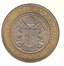 Città del Vaticano 1000 Lire 1997 Bimetallica/perfetta