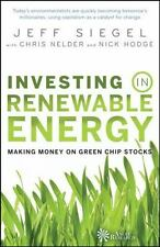 Investing in Renewable Energy: Making Money on Green Chip Stocks (Angel Series)